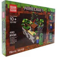 Конструктор аналог лего майнкрафт Minecraft Город 480 дет