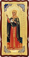 Храмовая большая икона в ризе Святая Наталия в церковной лавке