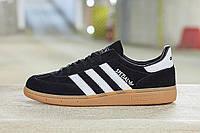 Кроссовки Adidas Spezial Черно-Белые 41-45 рр