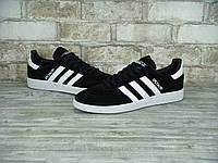 Кроссовки Adidas Spezial Черно-Белые 41-44 рр
