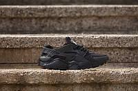 КРОССОВКИ Nike Air Huarache Black (ЧЕРНЫЕ) , фото 1