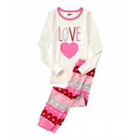Детская пижама с сердечком Crazy8 для девочки, на 6-8 лет