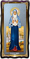Икона храмовая под серебро Святая Елизавета в церковной лавке