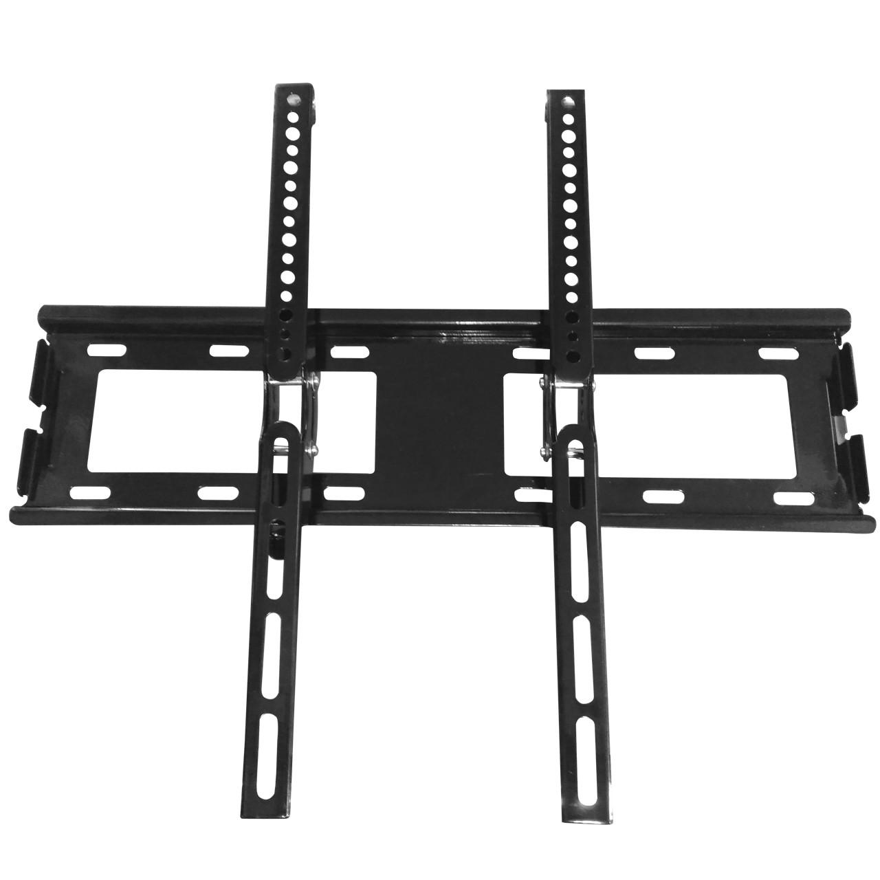 Крепеж DINGNUO S41 черный 25 - 55 дюймов для настенных LED телевизоров и компьютерных мониторов сверхпрочный