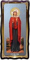 Икона храмовая под серебро Святая Иулиания Птолемаидская в православном магазине