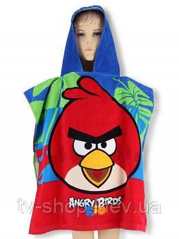 Полотенце-пончо с капюшоном Angry Birds\Rio (Венгрия)