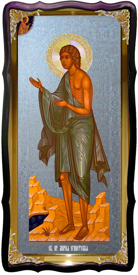 Икона храмовая под серебро Святая Мария Египетская в православном магазине
