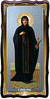 Храмовая икона под серебро Святая Параскева Сербская в православном магазине
