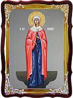 Храмовая икона под серебро Святая Александра ростовая в церковной лавке