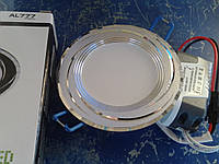Светодиодная панель 5w Feron AL777 5w 10LED 400Lm, фото 1