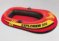 Intex Акция! Лодка надувная гребная Intex 58330 Explorer 200. Скидка 3 % на насос, ремкомплект и аксессуары при покупке лодки! Спешите, количество