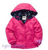 OshKosh Куртка на девочку на флисе розовая 2-5