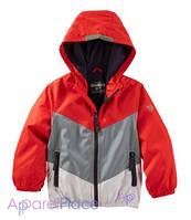 OshKosh Куртка-ветровка на мальчика красно-серая 2-5