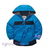 OshKosh Куртка для мальчика на флисе синяя 2-5