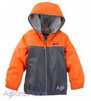 OshKosh Куртка оранжевая для мальчика на флисе