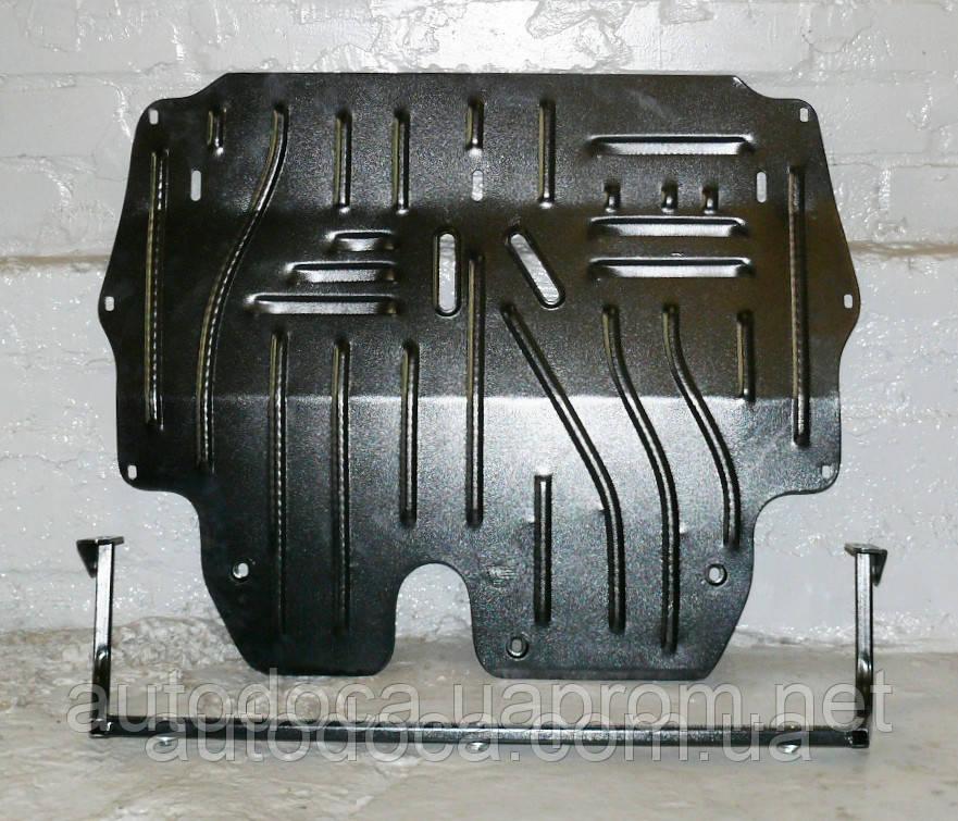 Защита картера двигателя и кпп Seat Ibiza 2011- с установкой! Киев