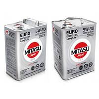 Масло моторное Mitasu 5W-30 Euro Diesel LL 4 литра