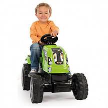 Трактор педальный с прицепом Smoby Farmer XL 710111, фото 3