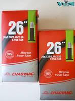 "Камера велосипедная 26""х2.30/2.50 ""Chao Yang"" (AV 48мм.)"