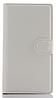Кожаный чехол-книжка для  Lenovo P70 / P70t белый