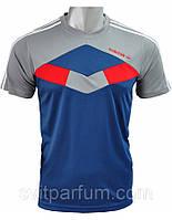 Футболка мужская Adidas из полиэстера, магазин одежды, футболки дешевые цены V-lb-g_6D1