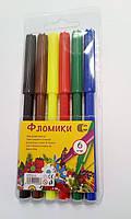 Фломастеры Фломики 858-6 6 цветов