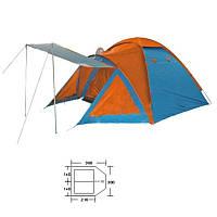Палатка универсальная 3-х местная с тентом и тамбуром BL-1009
