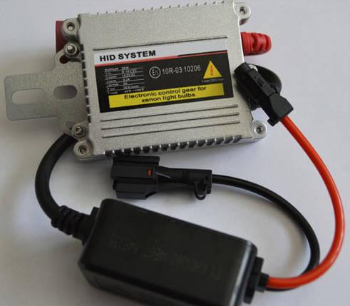 Блок розжига ксенона, тонкий, SL Xenon 37-E3 35Вт.  разъем KET, Тип AC, фото 2