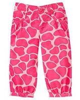"Штаны ""Розовый жираф"" Gymboree"