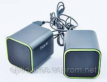 Колонки Havit HV-SK473 USB, black+blue