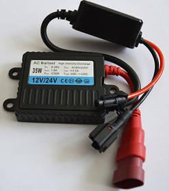 Блок розжига ксенона, тонкий, SL Xenon S36 12-36В., 35Вт. разъем KET, AC