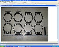 Ремкомплект прокладок головки блока ЯМЗ  7511-1003001 индивидуальний  производство ЯМЗ