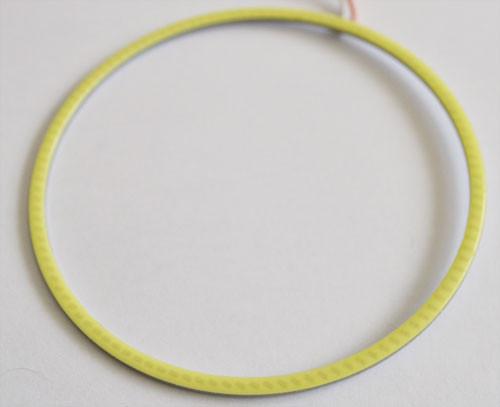 Светодиодные кольца (ангельские глаза) 110-100мм COB суперяркие ПАРА
