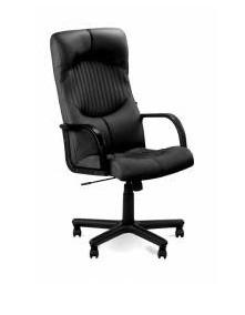 Креслo кожаное  для руководителя «Germes» ECO, Офисные кресла Украина