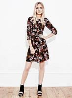 Шифоновое платье в цветочный принт Miss Selfridge