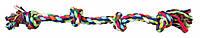 Канат Trixie Playing Rope для собак хлопковый, с узлами, 54 см, фото 1