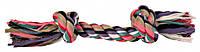 Канат Trixie Playing Rope для собак хлопковый, с узлами, 37 см