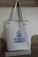 Пляжна сумка з вишивкою