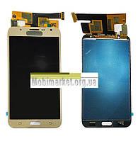 Модуль Samsung A500F Galaxy A5, A500FU Galaxy A5, A500H Galaxy A5, A500M Galaxy A5 TFT high copy золотий
