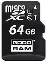 Карта памяти Goodram microSDHC/SDXC class 10 UHS-1 SD adapter 64Gb
