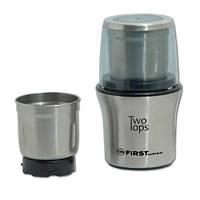 Роторная кофемолка электрическая + чоппер First FA-5486