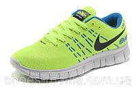 Женские кроссовки  Nike Free 6.0 салатовые