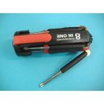 Универсальная отвертка Multi Screwdriver с подсветкой 8 в 1 ЕТ-802