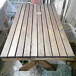 Стіл з натурального дерева з комплекту Дельта 3м, фото 4