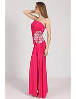 Платье вечернее с разрезом G0573 (р.46)