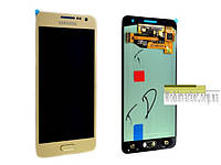 Samsung A300F Galaxy A3, A300FU Galaxy A3, A300H Galaxy A3 Amoled original золотий