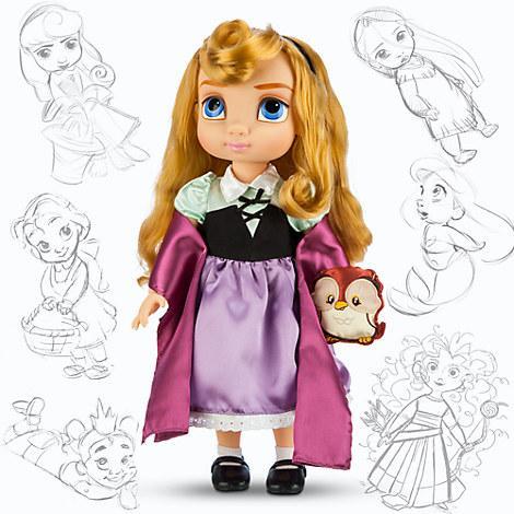 Кукла принцесса Аврора Дисней Аниматорс Disney Animators  Aurora