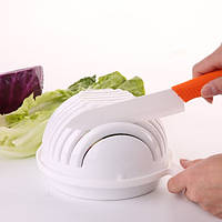 Салатница-овощерезка salad cutter bowl