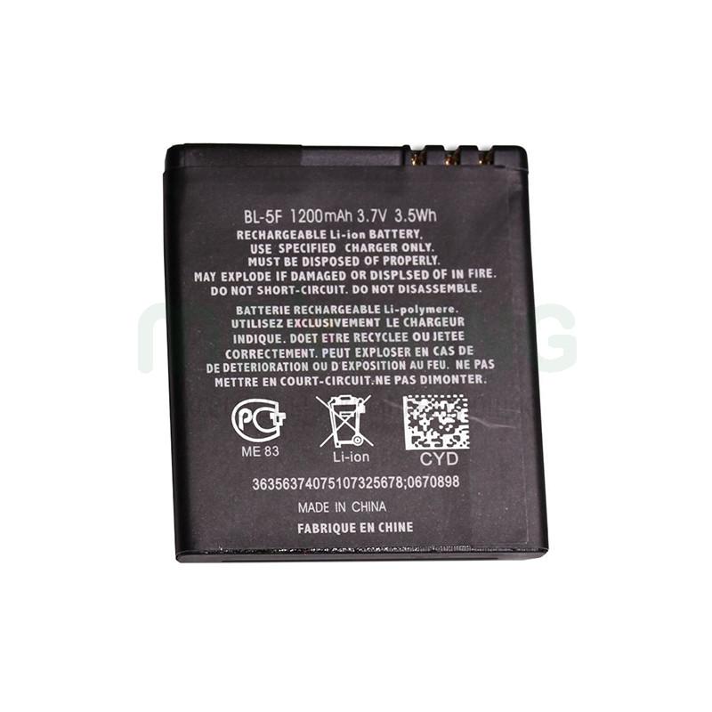 Оригинальная батарея Nokia 5F для мобильного телефона, аккумулятор.