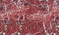 Самоклейка, Hongda 67,5 cm Пленка самоклеящая, под камень, красная